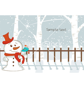 Free christmas greeting card vector - Free vector #259781