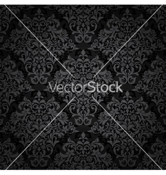 Free damask seamless pattern vector - Kostenloses vector #260031