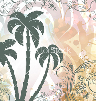 Free grunge summer background vector - Free vector #260361