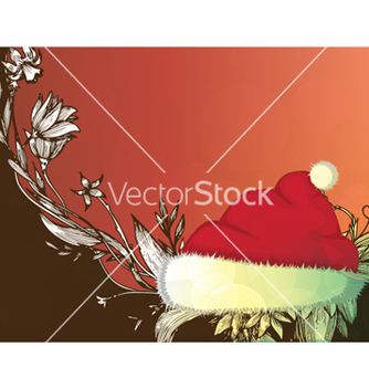 Free christmas greeting card vector - Kostenloses vector #260391