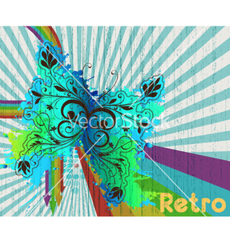 Free retro background vector - vector gratuit #260471