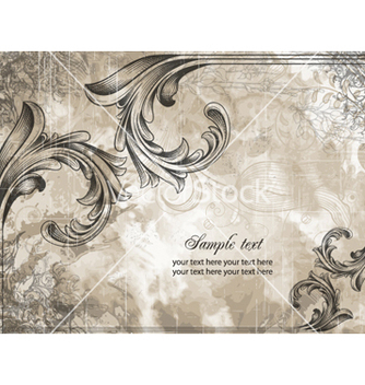 Free vintage background vector - Kostenloses vector #260711