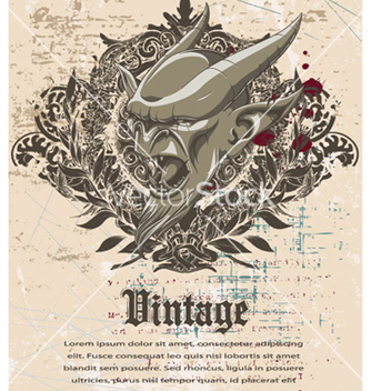 Free vintage background vector - Kostenloses vector #260841
