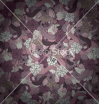 Free colorful floral pattern vector - Free vector #260941