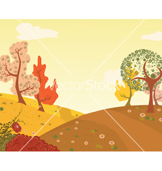 Free abstract trees vector - Free vector #260961