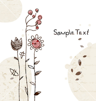 Free watercolor greeting card vector - vector #261231 gratis