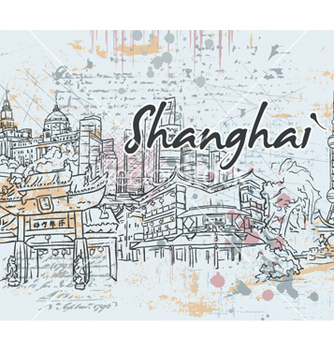 Free shanghai doodles vector - Free vector #261501