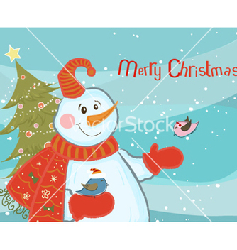 Free christmas background vector - бесплатный vector #261791