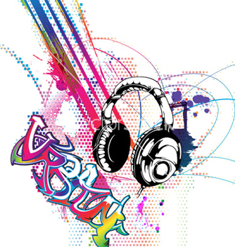 Free colorful music background vector - Kostenloses vector #262151