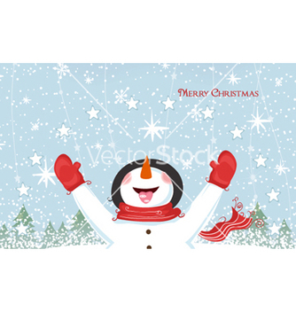Free christmas greeting card vector - Kostenloses vector #262201