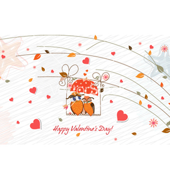 Free birds in love vector - vector #262241 gratis