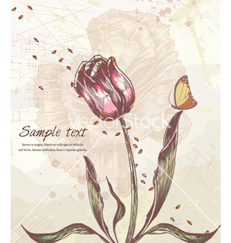Free colorful floral background vector - бесплатный vector #262441