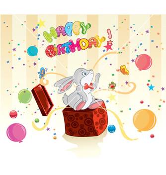 Free kids birthday party vector - vector gratuit #262521