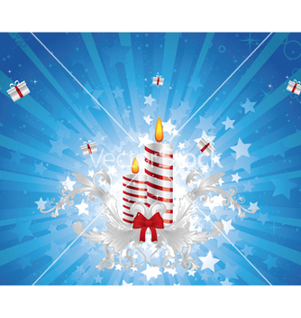 Free christmas greeting card vector - Kostenloses vector #262801