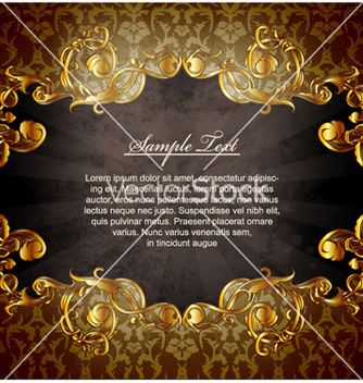 Free vintage floral background vector - Free vector #262991