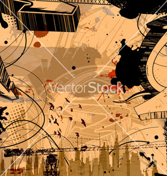 Free urban background vector - Free vector #263221