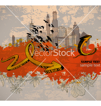 Free urban background vector - Free vector #263471