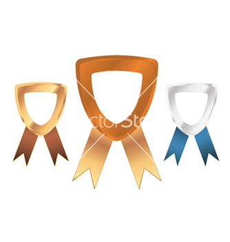 Free medals set vector - бесплатный vector #263551