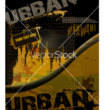 Free grunge urban background vector - Free vector #263601