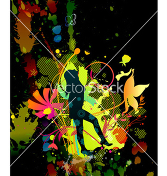 Free colorful background vector - vector #263631 gratis