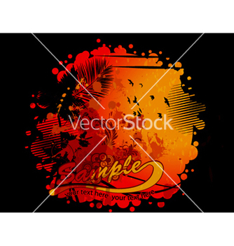 Free grunge summer background vector - vector #263661 gratis