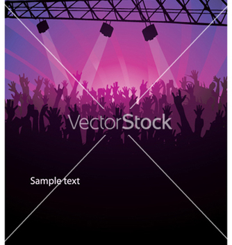 Free concert poster vector - Free vector #263711