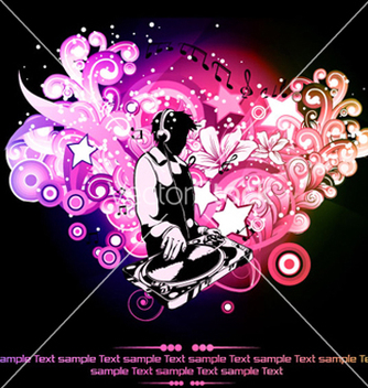 Free music poster vector - Free vector #263731