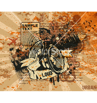 Free music poster vector - Free vector #264091