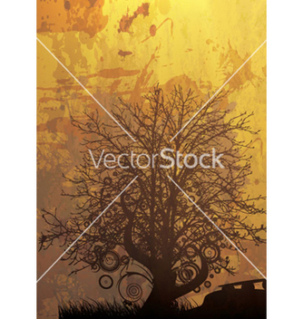 Free grunge autumn background vector - Free vector #264101