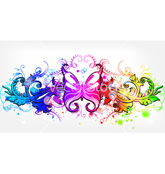 Free colorful abstract background vector - бесплатный vector #264161