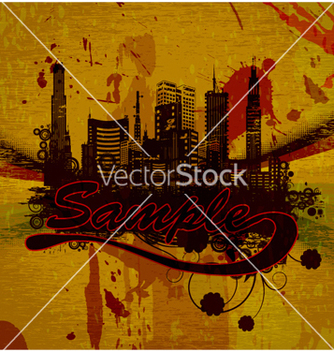 Free urban grunge background vector - Free vector #264241
