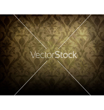 Free grunge damask background vector - Kostenloses vector #264331