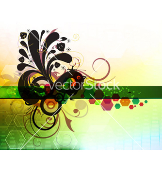 Free abstract colorful background vector - Kostenloses vector #264781