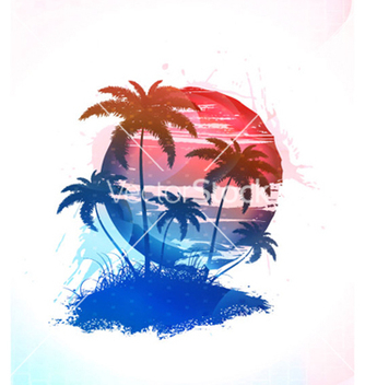Free abstract summer background vector - Free vector #264861