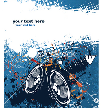 Free concert poster vector - Free vector #265061
