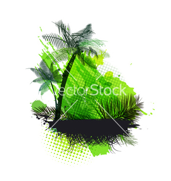Free summer background vector - Free vector #265191