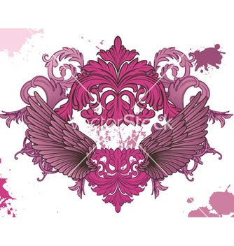 Free grunge wings vector - Kostenloses vector #265361