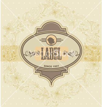 Free vintage label vector - бесплатный vector #265441