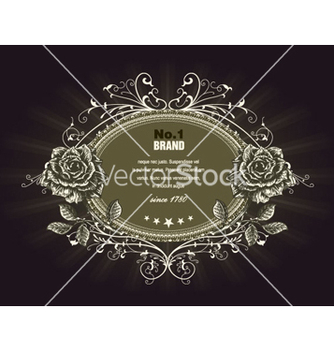 Free vintage label vector - бесплатный vector #265741