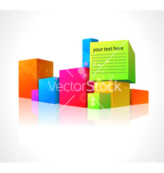 Free colorful boxes vector - Free vector #265791