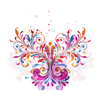 Free colorful floral bouquet vector - Free vector #266191