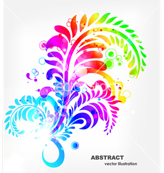 Free colorful abstract background vector - Kostenloses vector #266261