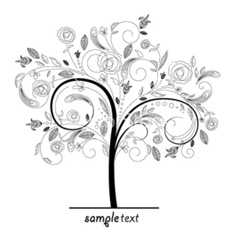Free abstract tree vector - vector #266311 gratis