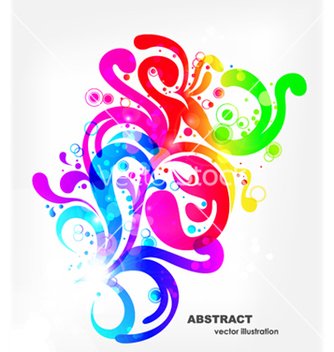 Free colorful swirls background vector - бесплатный vector #266451