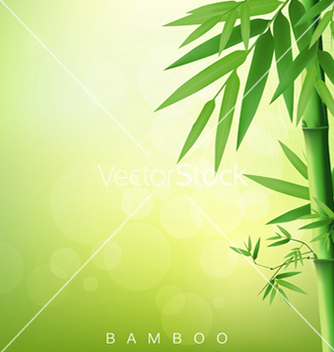 Free bamboo green leaf vector - Free vector #266651