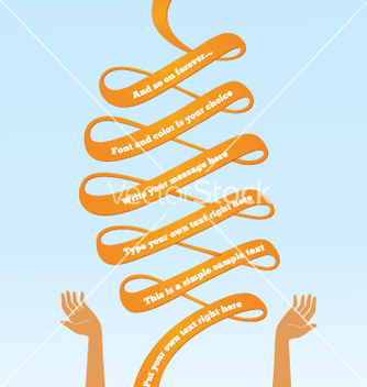 Free serpentine banner vector - Free vector #266781
