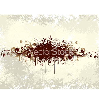 Free abstract floral background vector - Kostenloses vector #266921