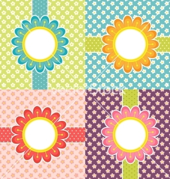 Free floral frames vector - Free vector #266961