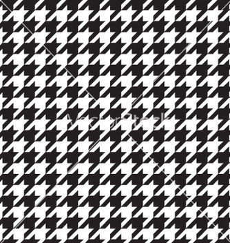 Free classic houndstooth seamless vector - бесплатный vector #267031
