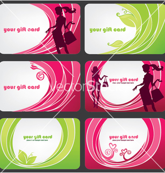 Free fashion discount cards vector - Free vector #267121